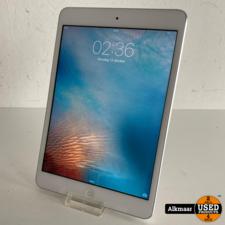 Apple Apple iPad Mini 1 16GB Wifi zilver   Gebruikt