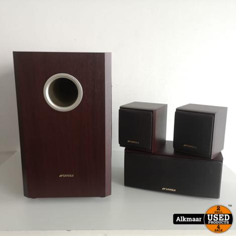Sansui Micro 1500DSSW 3.1 speakerset | Actieve Sub | Nette staat