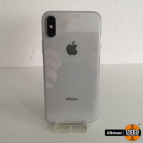 Apple iPhone X 64GB Zilver | In nette staat!