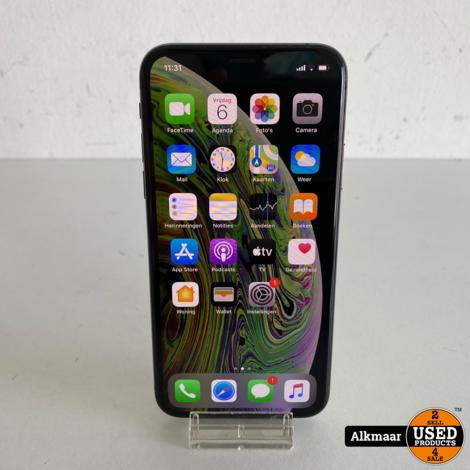 Apple iPhone XS 64GB Space gray   Compleet in doos