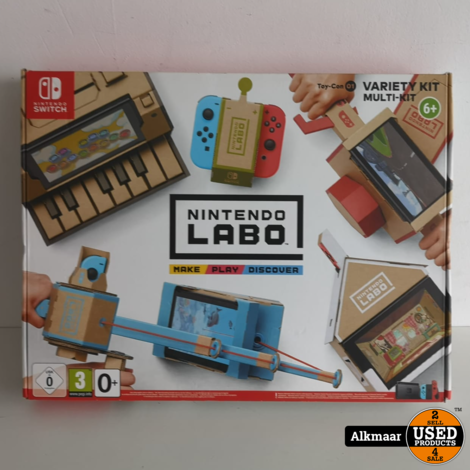 Nintendo Labo Variety Kit | Nieuw