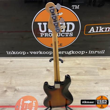 Fender Vintera '60s Jazz Bass PF 3-Color Sunburst Fretless | In zeer nette staat!