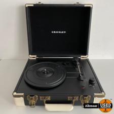 Crosley CR6019A-BK USB Platenspeler   koffermodel   Nette staat