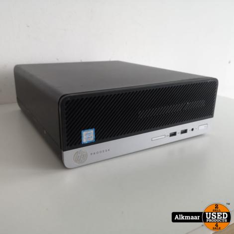 HP Prodesk 400 G4 SFF Business PC   i3   Gebruikt