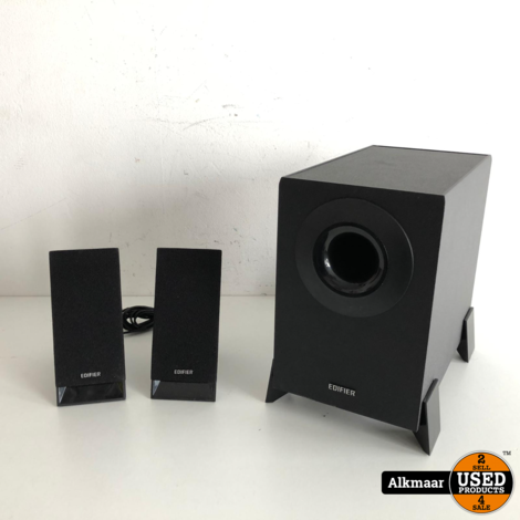 Edifier m1360 | 2.1 speakerset in doos