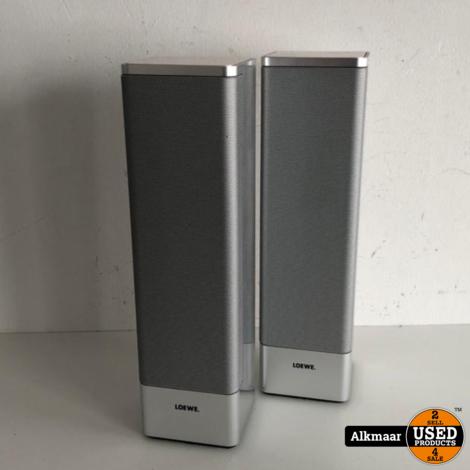 Loewe Individual Satelite speakers   2 stuks   zilver   Nette staat