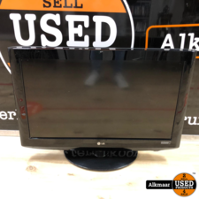 LG LG 32LH2000 lcd tv   gebruikt   zonder afstandsbiening