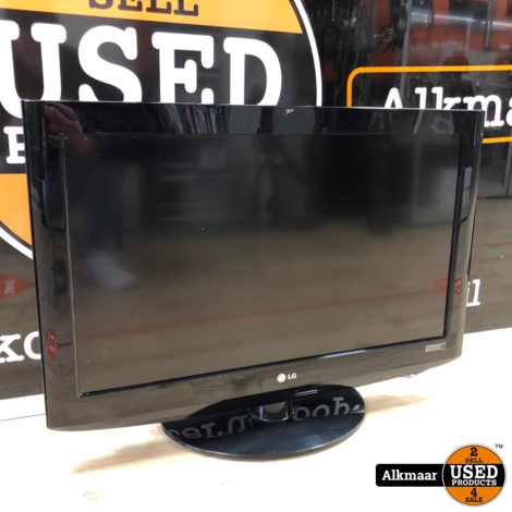 LG 32LH2000 lcd tv   gebruikt   zonder afstandsbiening