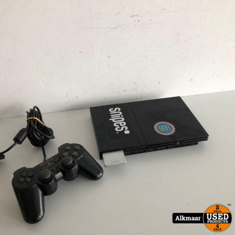 Sony Playstation 2 Slim + controller | Gebruikt