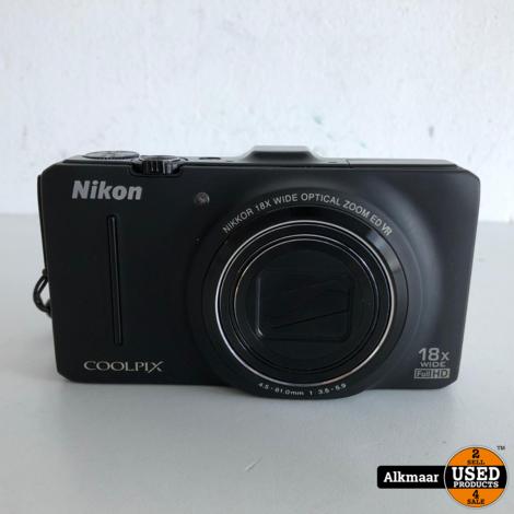 Nikon Coolpix S9300 fotocamera | 16MP | Nette staat