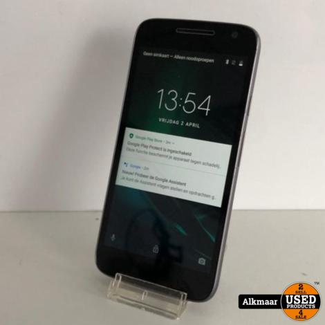 Motorola Moto G Play 16GB Zwart   Nette staat