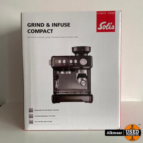 Solis Grind & Infuse Compact 1018 | NIEUW