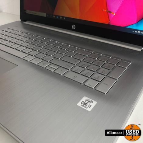 HP 17-by3400nd 17 inch laptop | i3 10e Gen | Zeer nette staat!