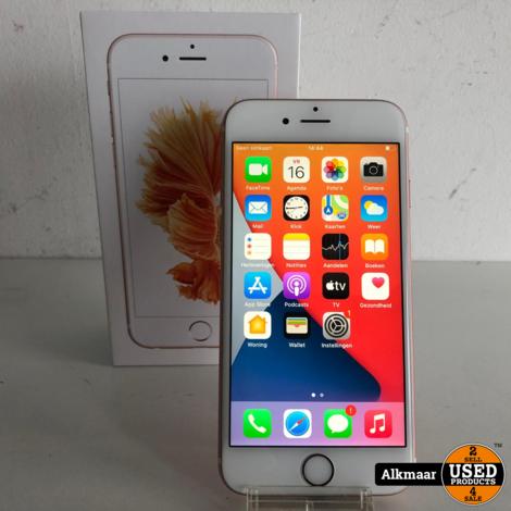 Apple iPhone 6s 32GB Rose Gold | Compleet in doos