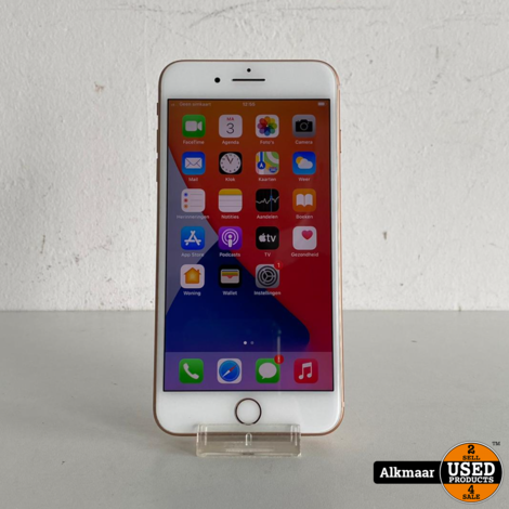 Apple iPhone 8 Plus 64GB Rose Gold | Zeer nette staat!