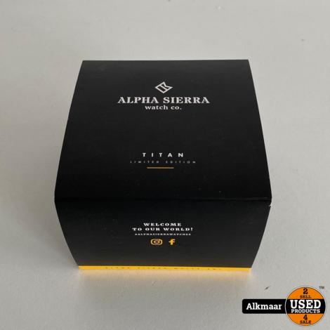 Alpha Sierra Titan SBS05 Herenhorloge   Compleet in doos