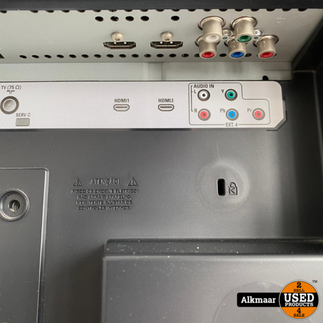 Philips 32PFL5322/10 32 inch Hd-ready tv + afstandsbediening