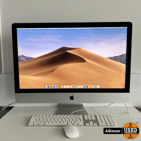 Apple iMac 27 2019 5K   i5   8GB   1TB   In zeer nette staat
