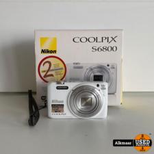 Nikon Coolpix S6800 Full-HD digitale fotocamera   Compleet in doos