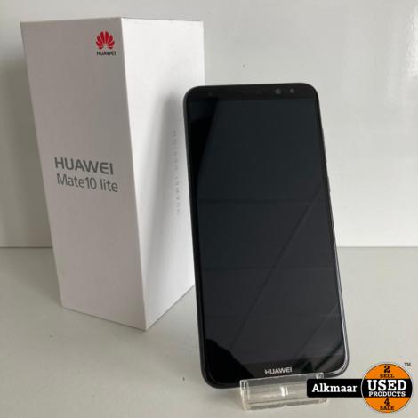 Huawei Mate 10 Lite 64gb zwart | nette staat