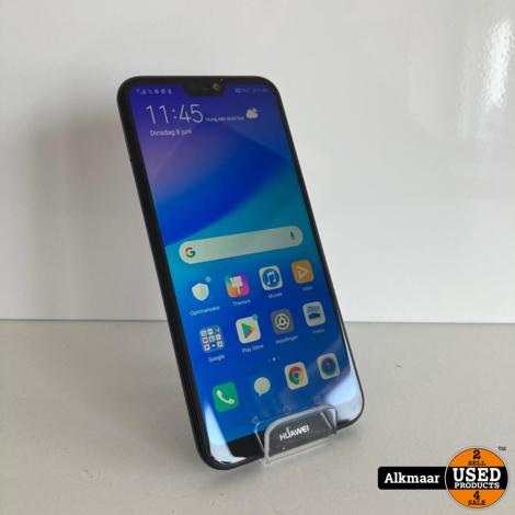 Huawei P20 Lite 64gb zwart | Zeer Nette Staat!