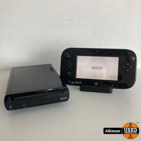 Nintendo Wii U Zwart + Controller | Gebruikt