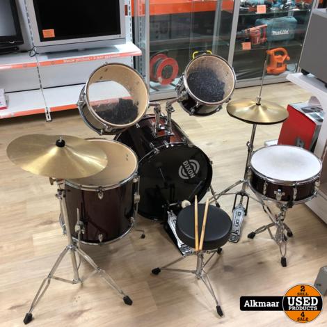 Dixon Chaos 7-delig drumstel | Gebruikt