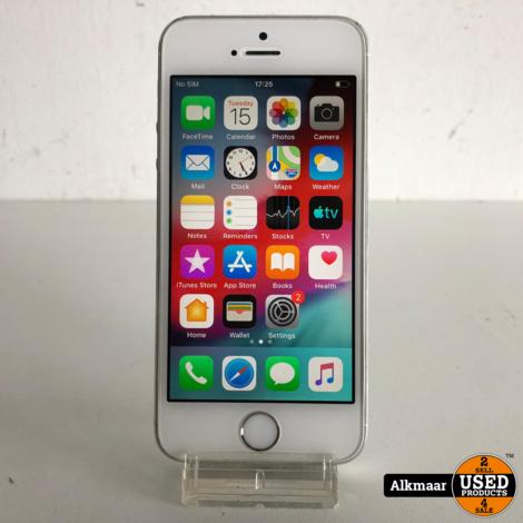Apple iPhone 5S 16GB Zilver   Nette staat
