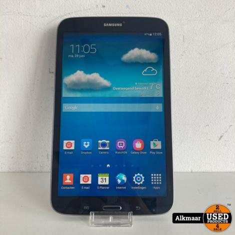 Samsung Galaxy Tab 3 7 inch 16GB Zwart   Gebruikt