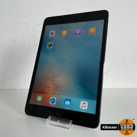 Apple iPad Mini 16GB zwart | Gebruikt