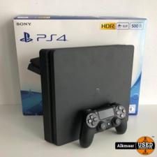Sony Sony Playstation 4 Slim 500GB Zwart | compleet in doos