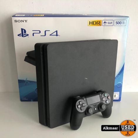 Sony Playstation 4 Slim 500GB Zwart | compleet in doos