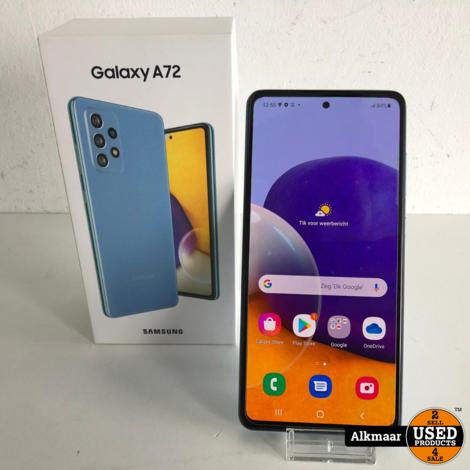 Samsung Galaxy A72 (6GB) 128GB Blue | Nieuwstaat