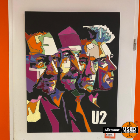 Frans Rosier | U2 | Wooden-Art