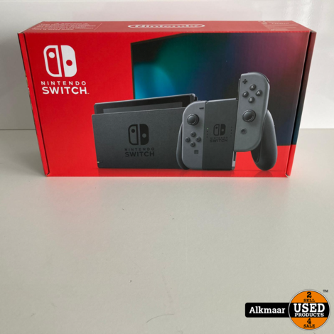 Nintendo Switch Rood/Blauw | NIEUW + bon