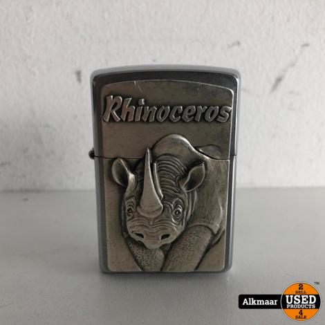 Zippo Rhinoceros aansteker   Nette staat