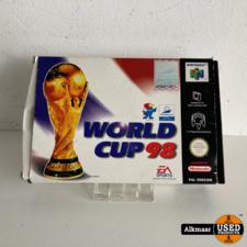 Nintendo World Cup 98 Nintendo 64 | IN DOOS