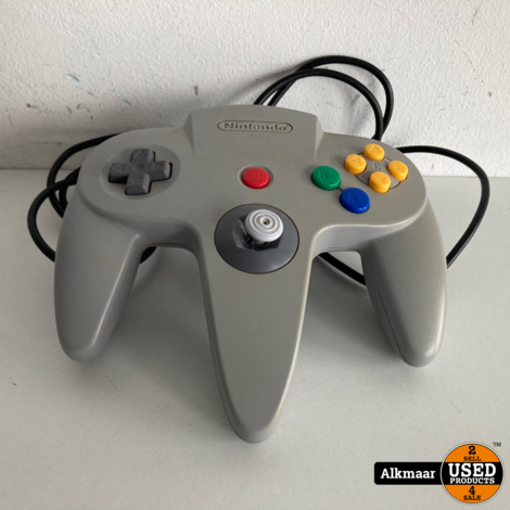 Nintendo 64 controller grijs | In nette staat!