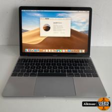 Apple Macbook 12 2017 | Core m3 | 8GB | 256SSD | Met gebruikerssporen