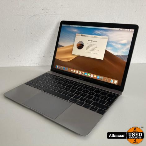 Macbook 12 2017 | Core m3 | 8GB | 256SSD | Met gebruikerssporen