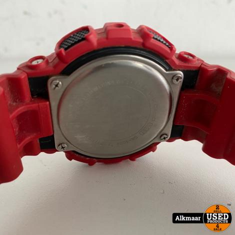 Gshock Horloge 5081 rood