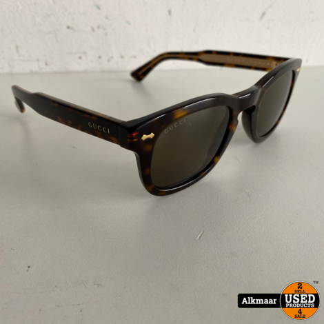 Gucci Trapezium Zonnebril | Inclusief brillenkoker