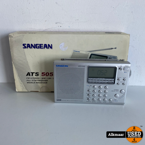 Sangean ATS 505 Wereldontvanger | Compleet in doos