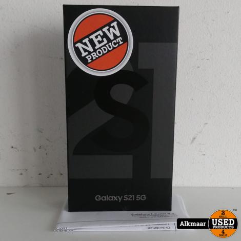 Samsung Galaxy S21 5G 128GB Phantom Gray   NIEUW in SEAL!