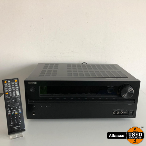 Onkyo TX-NR509 Receiver + afstandsbediening