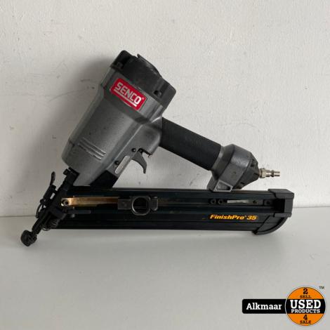 Senco Finish Pro 35 pneumatische tacker | compleet in koffer