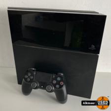Sony Playstation 4 500GB + controller   Gebruikt
