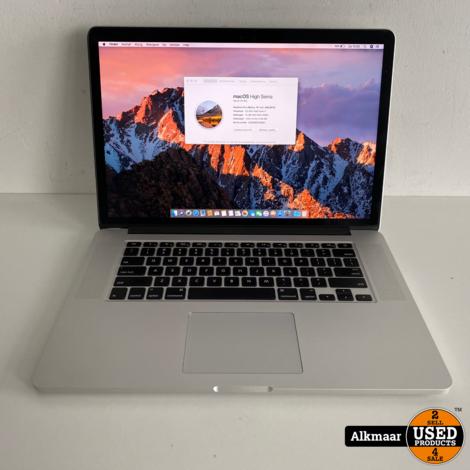 Apple Macbook Pro 15 2015   Core i7   16GB   512SSD   nette staat