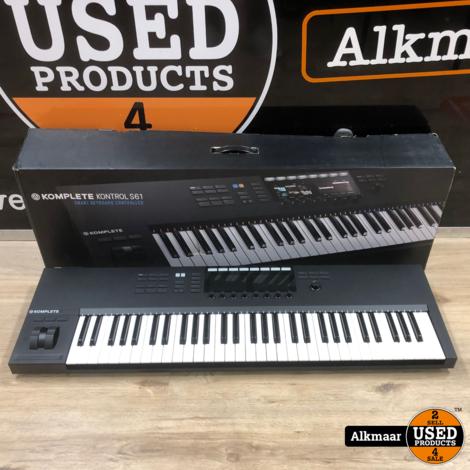 Native Instruments Komplete Kontrol S61 Midi-keyboard   In doos