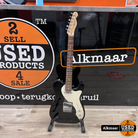 Fender Squier Classic Vibe 70s Telecaster Thinline Zwart-wit